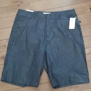Calvin Klein flat front shorts NWT
